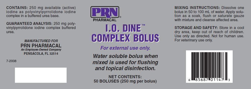 I O Dine Complex Bolus - Pegasus Laboratories, Inc : Veterinary