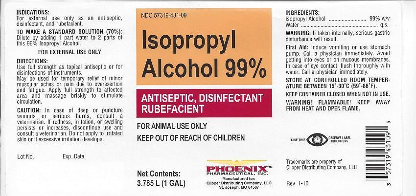 Isopropyl Alcohol Product Information