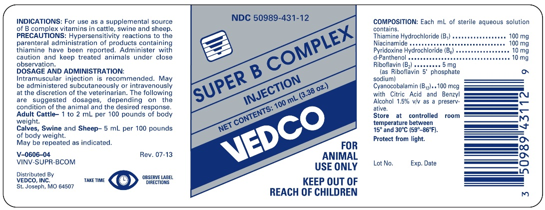 Super B Complex - Vedco, Inc : Veterinary Package Insert