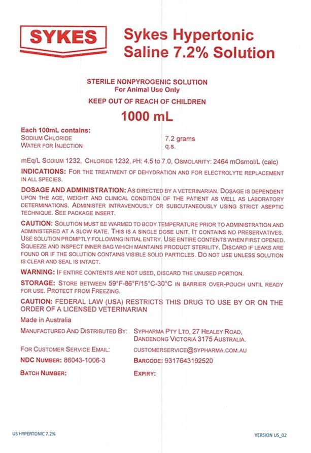 1000ml Hypertonic