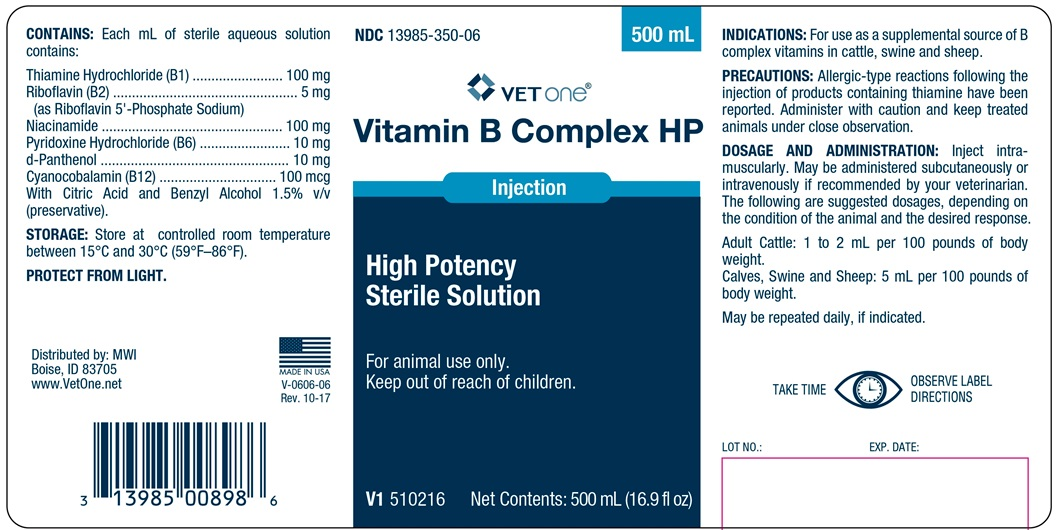 Vitamin B Complex HP - MWI Veterinary Supply, Inc : Veterinary